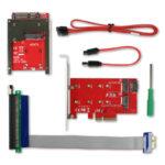 CRU WiebeTech Ditto DX PCIe Adapter Bundle 2