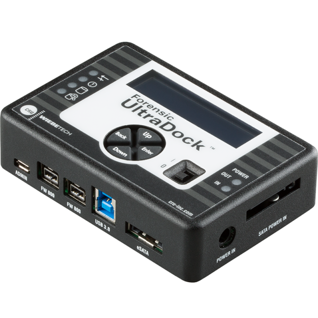 CRU WiebeTech Forensic Ultradock v5.5 Side