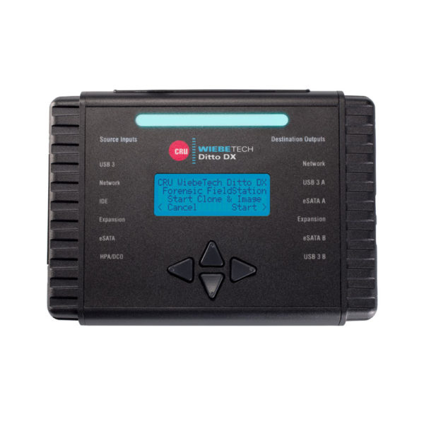 CRU WiebeTech Ditto DX Forensic FieldStation