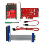 CRU WiebeTech Ditto DX PCIe Adapter Bundle