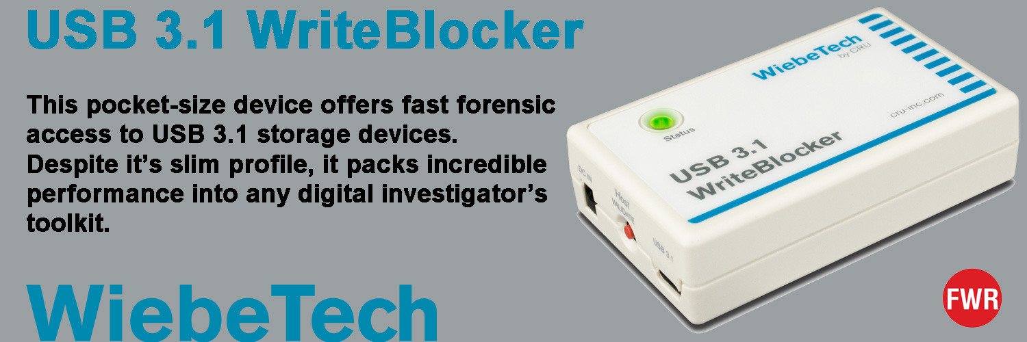 WiebeTech WriteBlocker 3.1