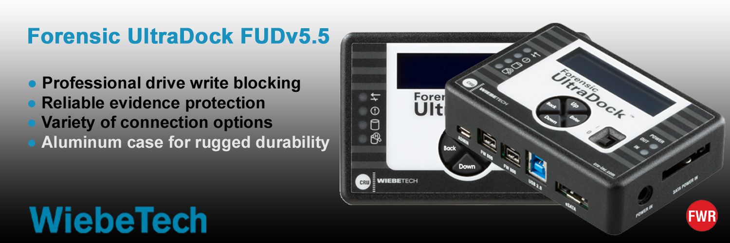 Forensic UltraDock 5.5