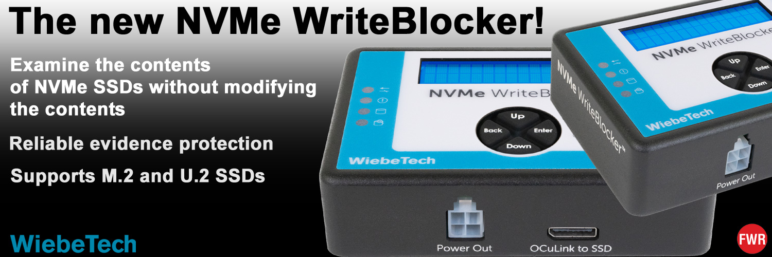 WiebeTech NVMe-WriteBlocker