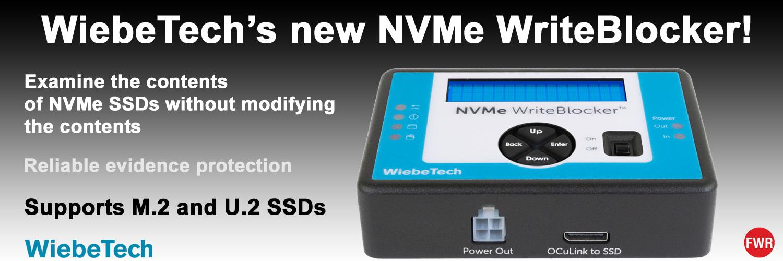WiebeTech's new NVMe WriteBlocker
